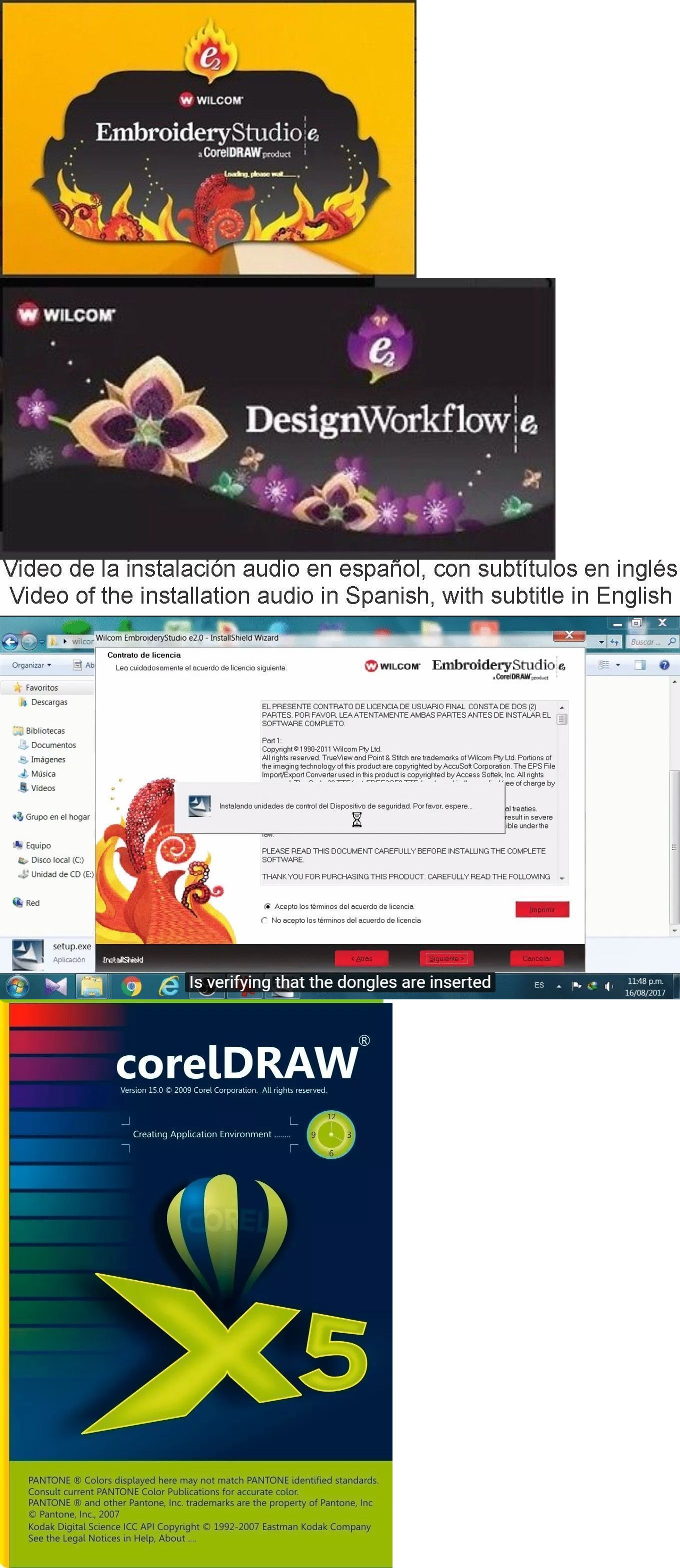 Details About Wilcom E2 Studio Corel Draw For Win 7 8 And 10 Gifts Instructions Include Wilcom Embroidery Coreldraw Digitizing Software