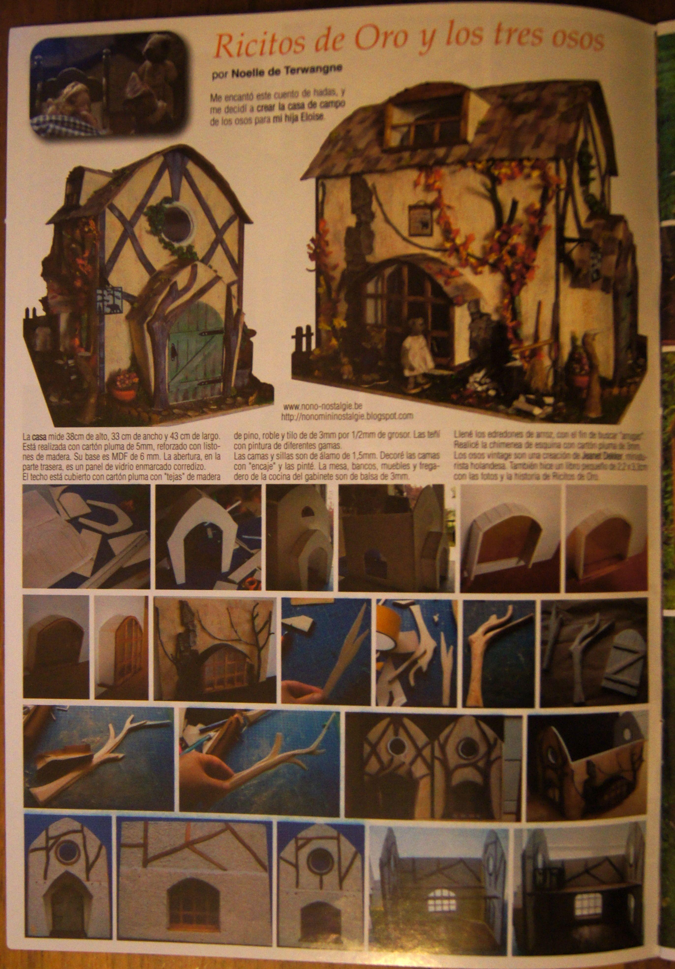Goldilocks And The 3 Bears Miniaturas Magazine Miniatures