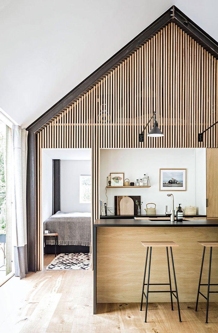 Modern Summer House In The Woods In Denmark Cabin Interiors