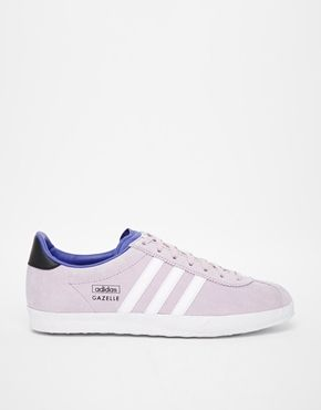 adidas Originals Womens Gazelle OG Trainer | Bliss Purple