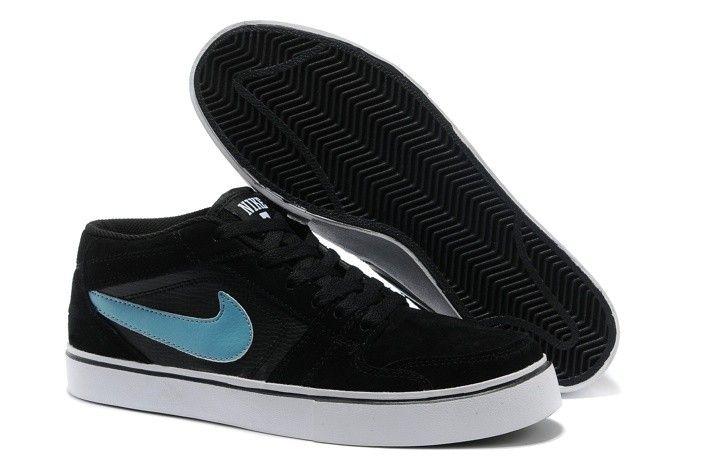 quite nice c1a86 8b38a Mens Blue Nike Shoes Sb Ruckus Mid Lr Fur Black 77.05 www.nikeoutletshop.