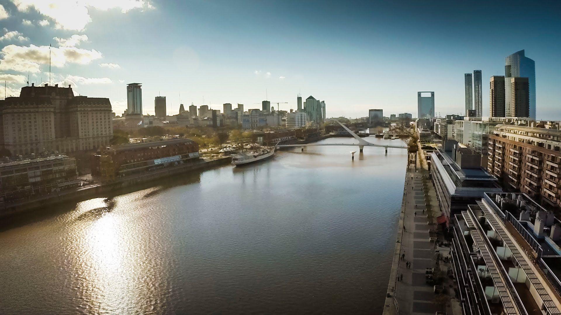 Buenos Aires Desde Un Drone Grabaciones Aéreas En Full Hd