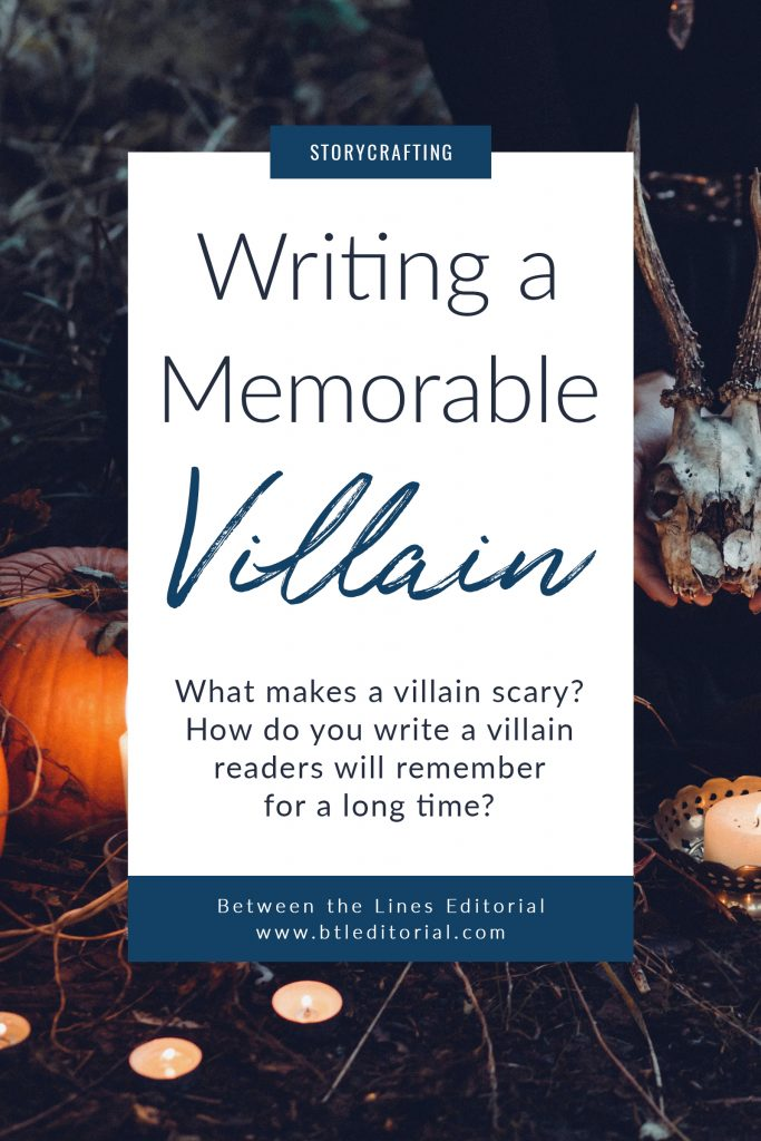 the novel series part vi how to write a scary villain