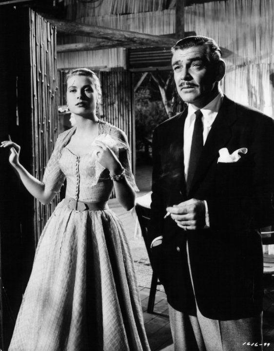 Still of Clark Gable and Grace Kelly in Mogambo (1953)   Grace ...