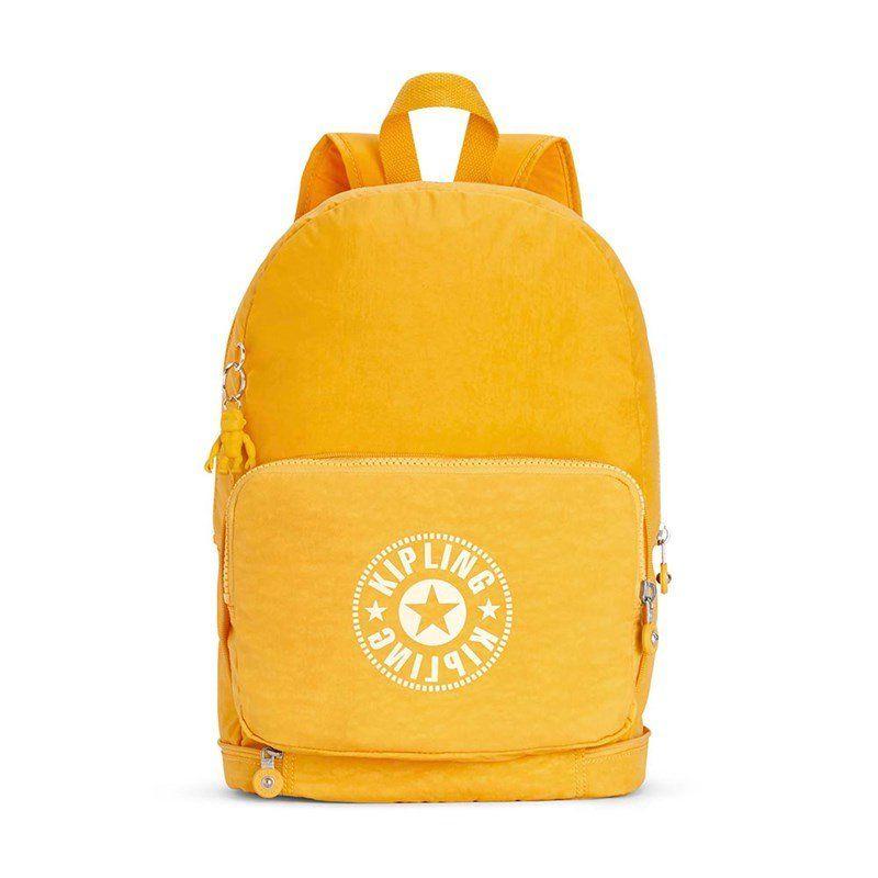 c90182ec8 Compre KIPLING : Mochila de passeio Classic Niman Fold Amarela Lively  Yellow Kipling por R$599