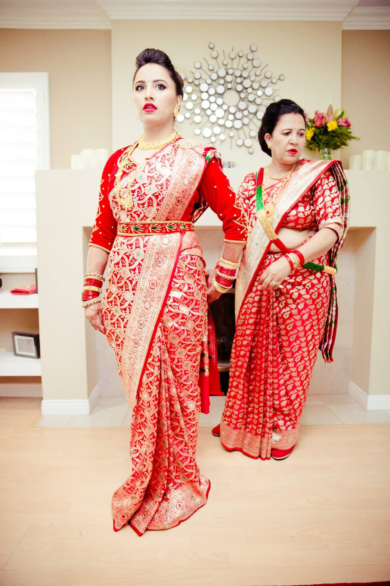 South asian wedding dresses  Mommy love wedding nepali southasian  My dream Nepali wedding