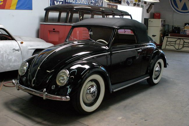 Volkswagen Type 14A . Production ended in 1953 with a total of 696[7] units produced, including 3 prototypes and 1 pre-production model. Around 100 are thought to survive.
