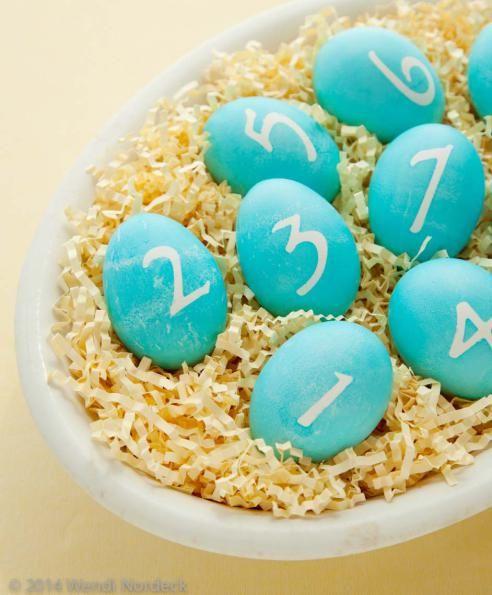 Easter egg scavenger hunt from http://roux44.com