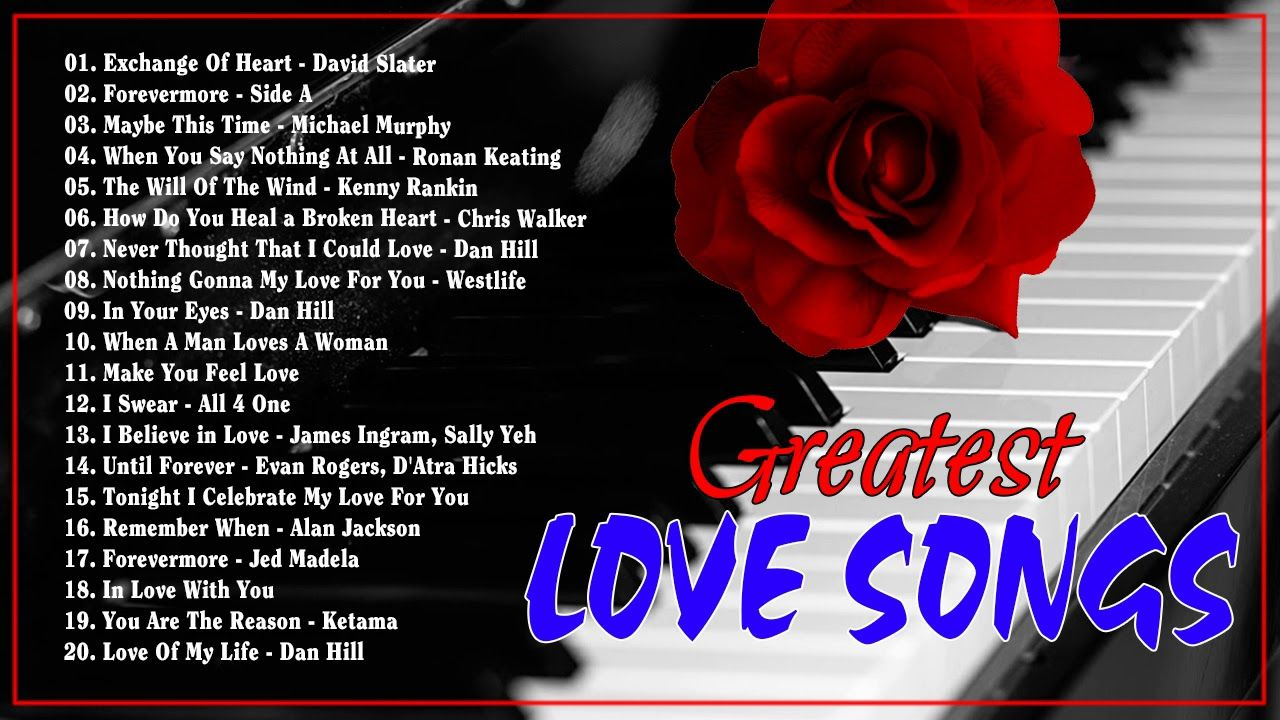 Relaxing Beautiful Love Songs 70s 80s 90s Playlist Greatest Hits