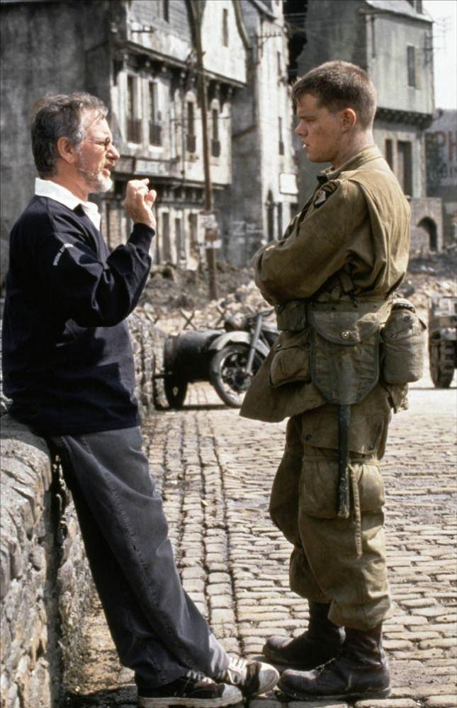 Il Faut Sauver Le Soldat Rayan : sauver, soldat, rayan, Images, Steven, Spielberg, Challenges.fr, Sauver, Soldat, Ryan,, Tournage
