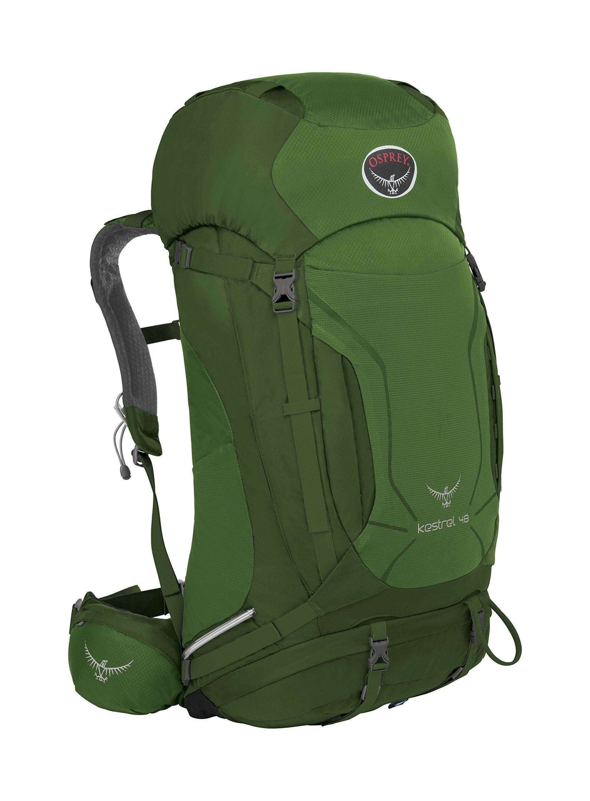 Osprey Packs Kestrel 48 Backpack, Jungle