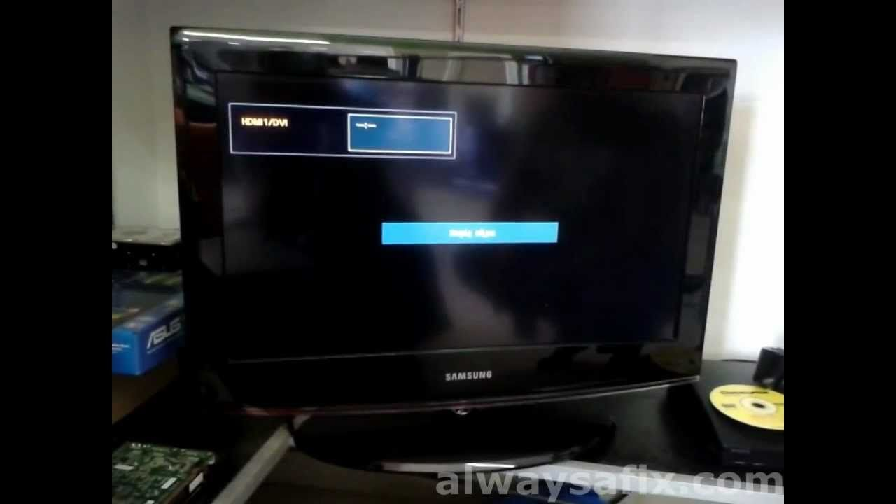Easy Fix For New Samsung Tv Switching On And Off Power Cycling  # Rangement Tele Et Sono