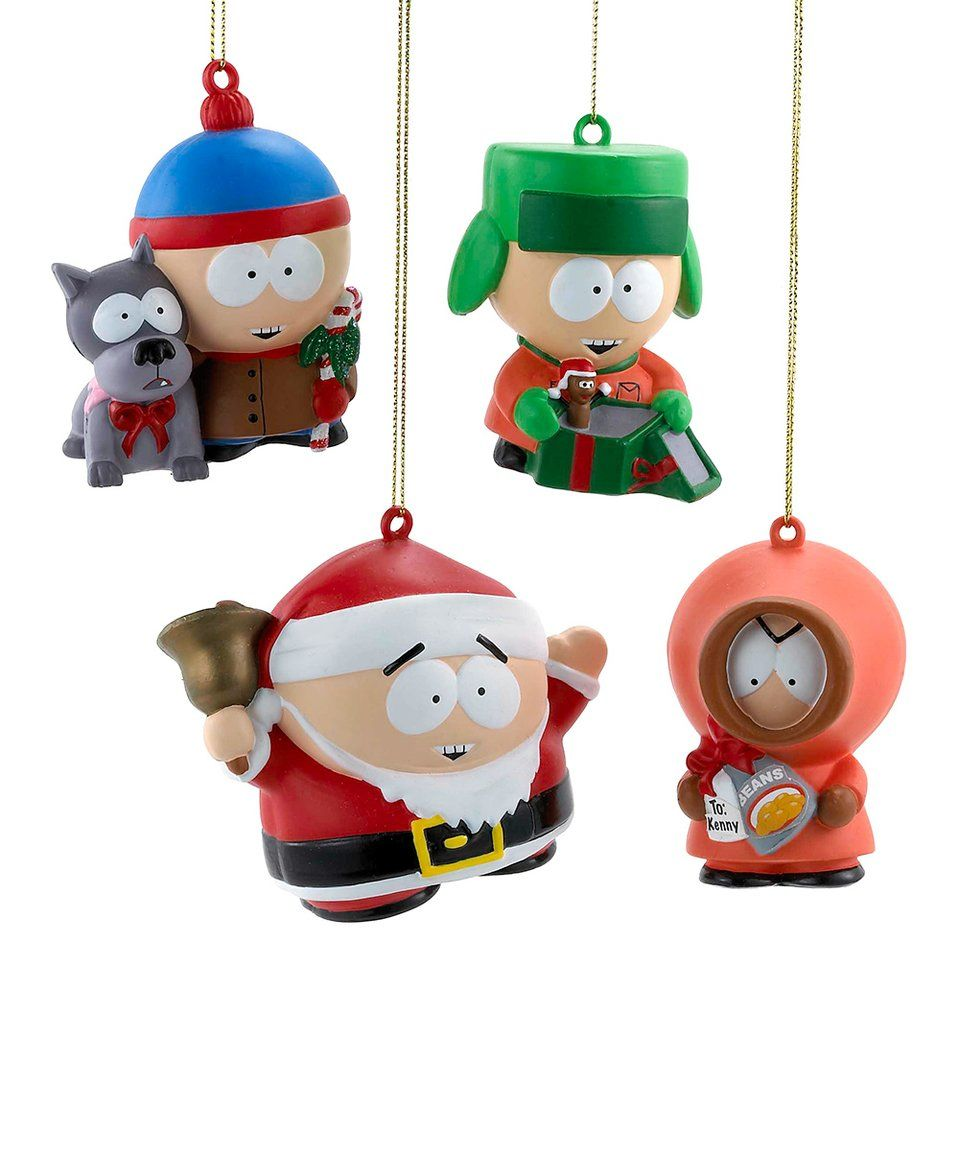 Take a look at this South Park Ornament - Set of Four ...