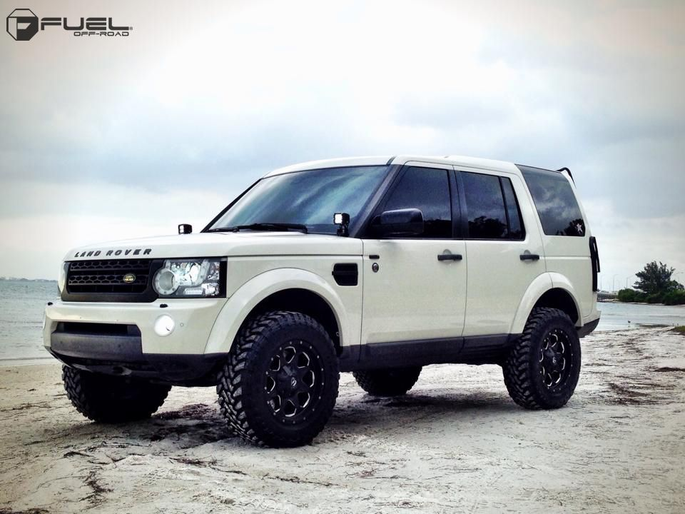2010 Land Rover Lr4 Brand Fuel One Pieceoffset Wheel D534