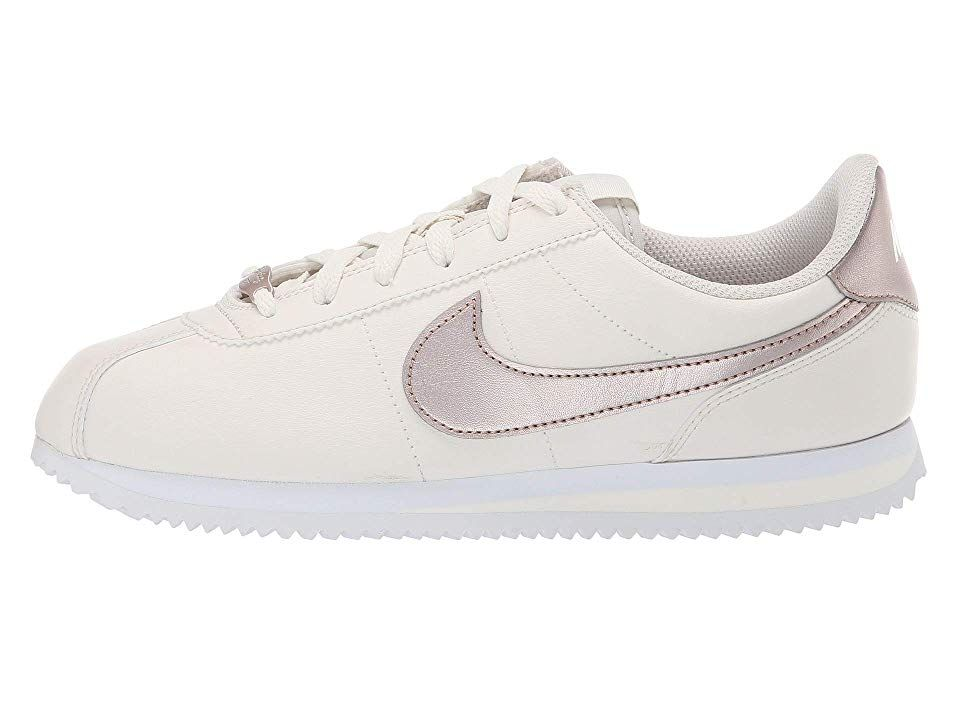 promo code 4f66e 231f6 Nike Kids Cortez Basic SL (Big Kid) Girls Shoes PhantomMetallic Red  BronzeWhite