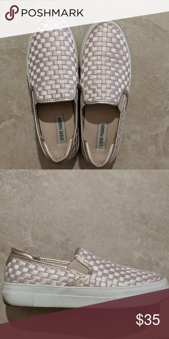 Steve madden shoes sneakers, Slip