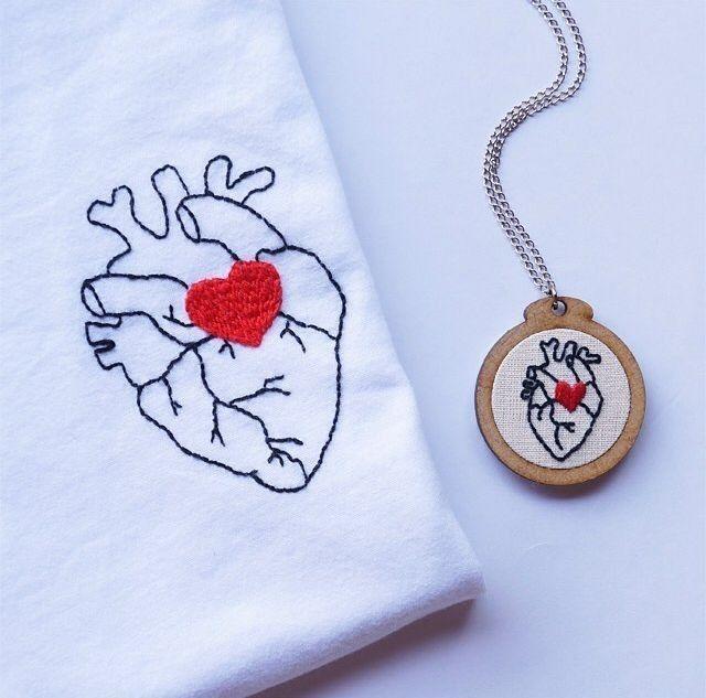 Cómo hacer preciosos bordados en camisetas - 27 Ideas ★★★★☆ 374 Opiniones