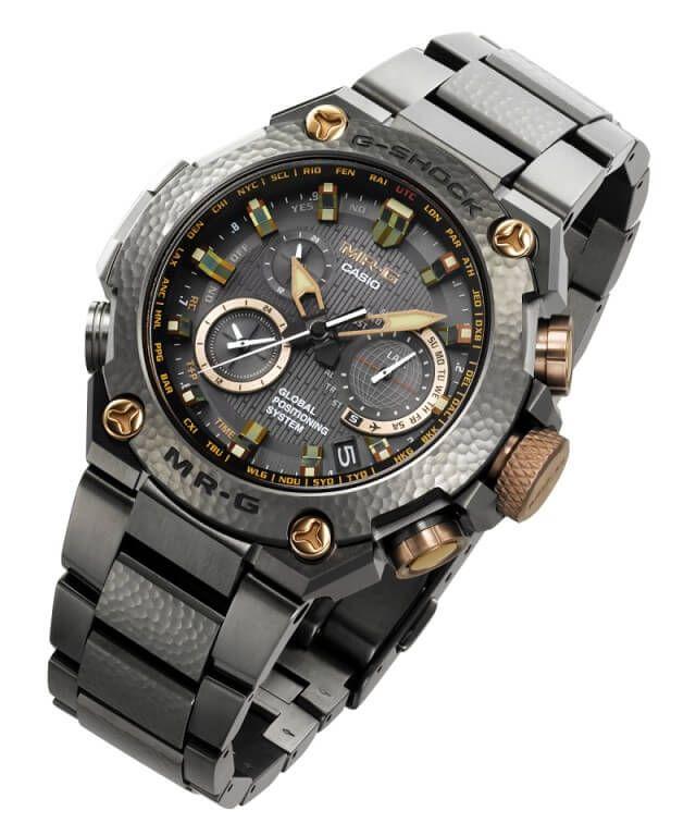 ddb2d4c1c88a G-Shock MRG-G1000HT Hammer Tone MR-G 20th Anniversary Watch ...