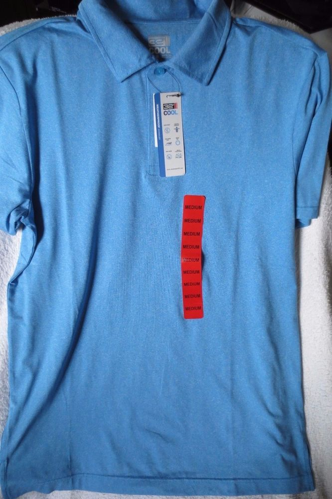 32 DEGREES Cool Mens Short Sleeve Polo Shirt