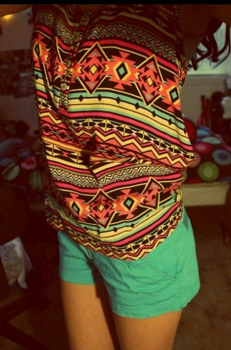 Aztec- good summer outfit! | *fashionista* | Summer ...