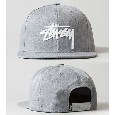 a8f2e0c55d6 New Gray Fashion trend Men s Snapback adjustable Baseball Cap Hip Hop cool  hat