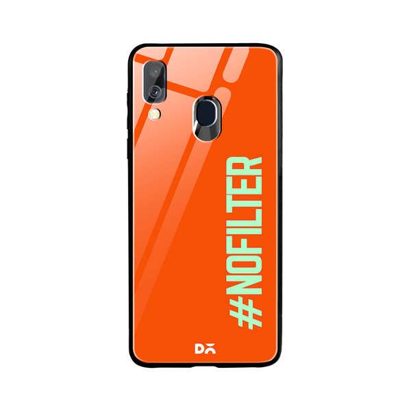 DailyObjects No Filter Glass Case Cover For Samsung Galaxy A40 Buy Online in India - DailyObjects