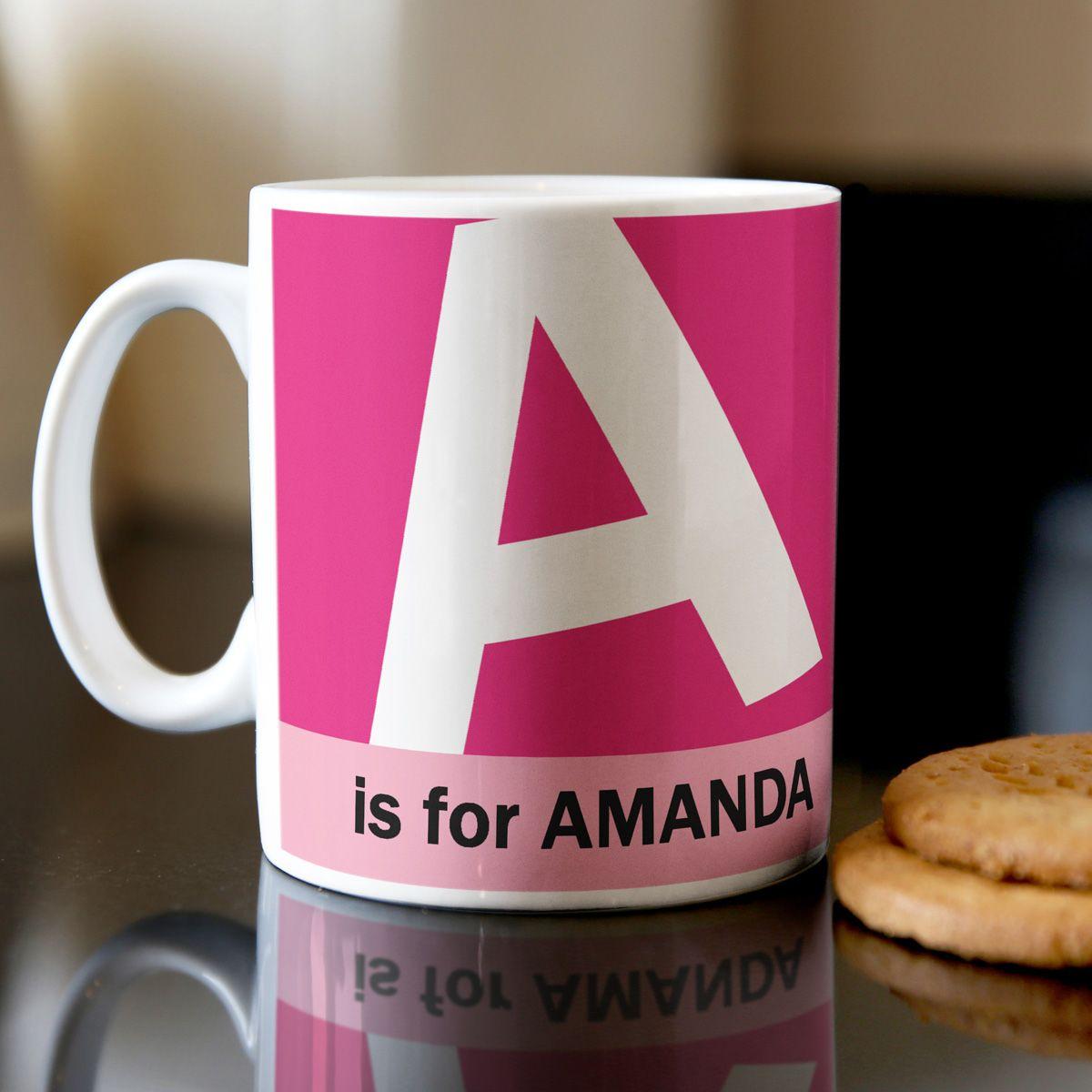 Personalised Mugs   GettingPersonal.co.uk   Mug Ideas   Pinterest ...