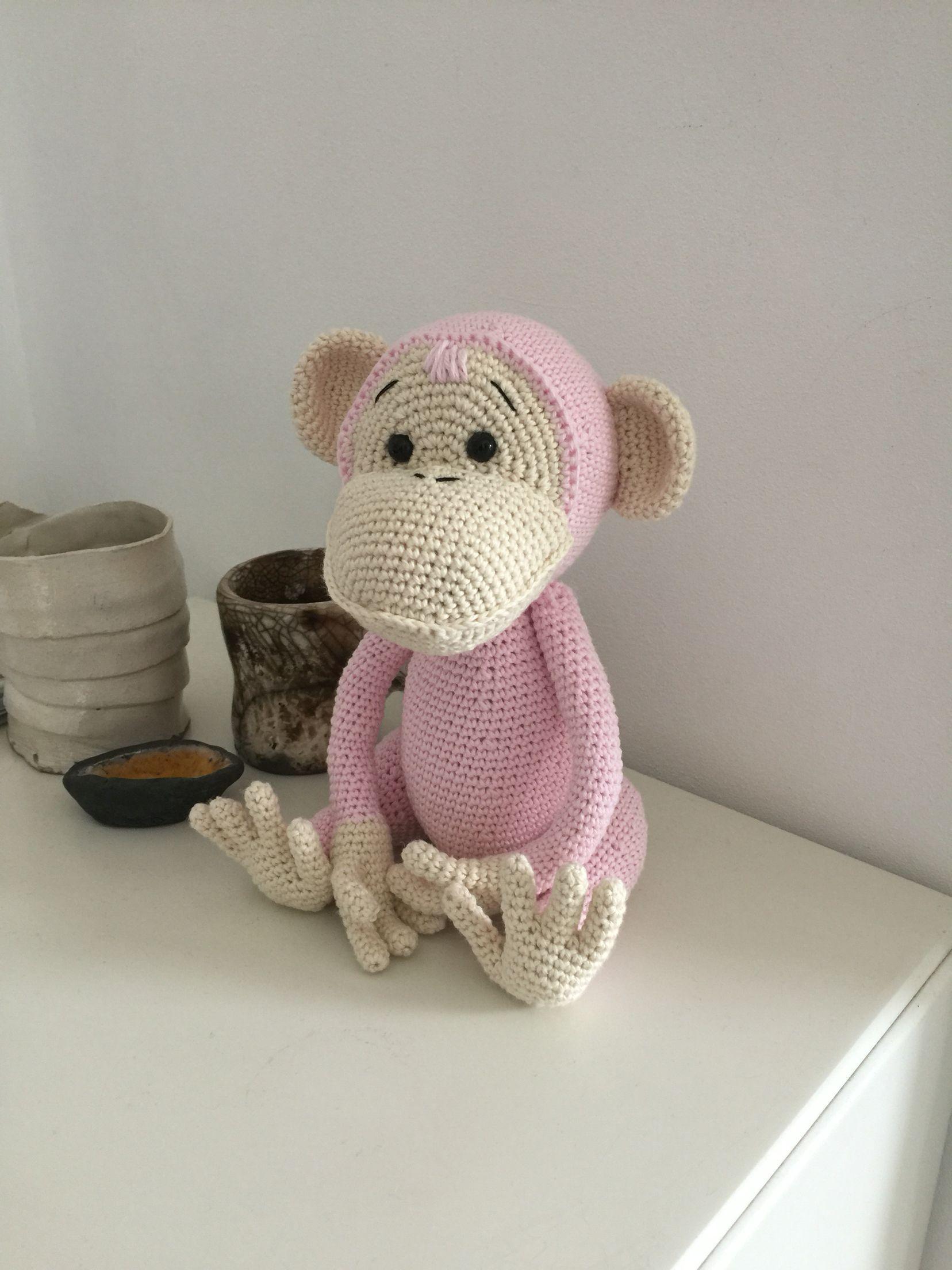 Monkie crochet | # AMiGUrUMi # | Pinterest | Affen und Amigurumi
