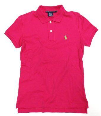 Ralph Lauren Sport Womens Polo Shirt in Hibiscus Hot Pink (Lime ...