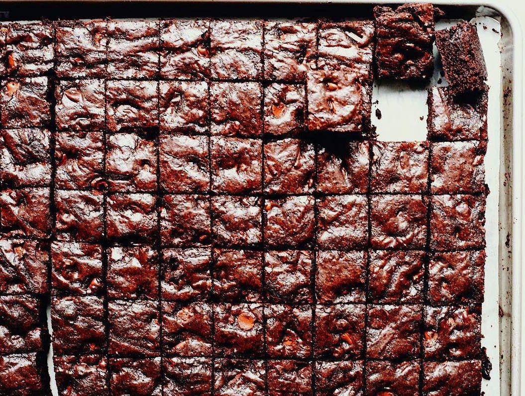 Sheet Pan Brownies - amazing recipe!