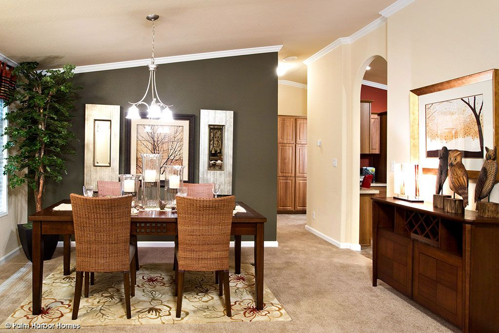 Pictures Photos And Videos Of Manufactured Homes And Modular Homes | Palm  Harbor Homes · Kitchen Dining RoomsFormal ...