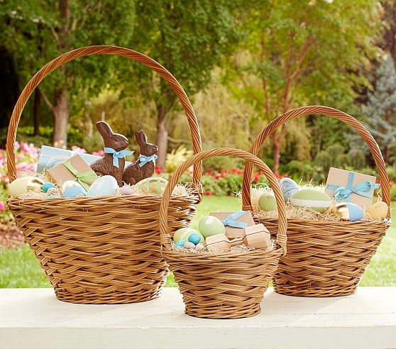 Natural Sabrina Easter Baskets Pottery Barn Kids