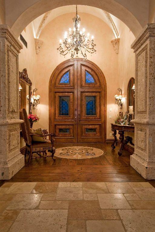 Italian Villa I | Tuscan house, Mediterranean homes, Tuscan design