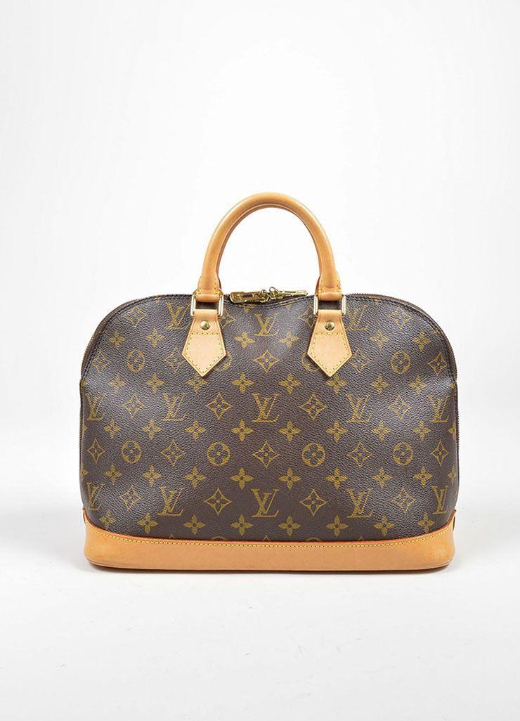 8ca815c2e5b0 Brown Louis Vuitton Monogram Canvas