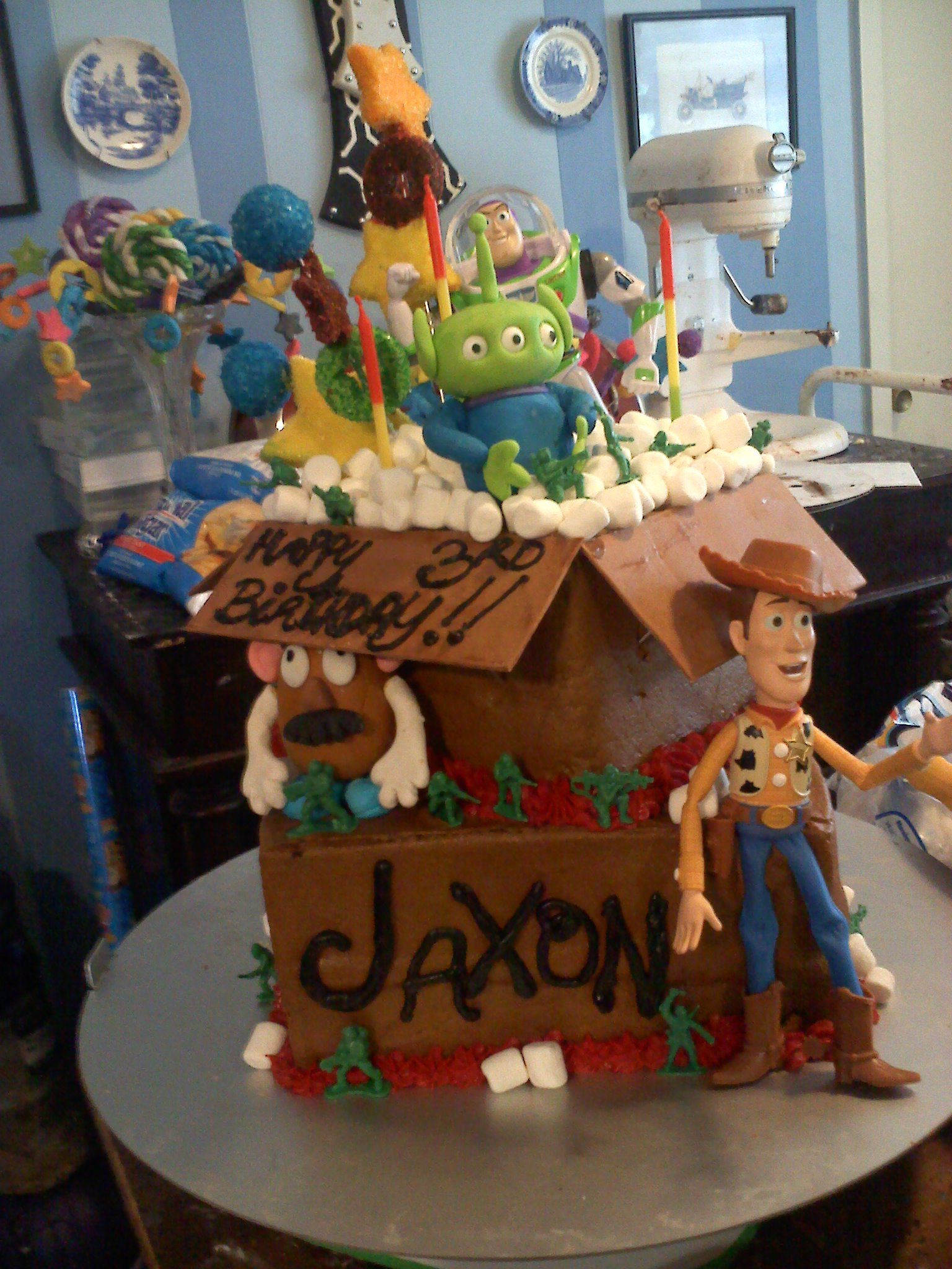 Toy Story 3 Toy story 3, Gingerbread, Gingerbread house