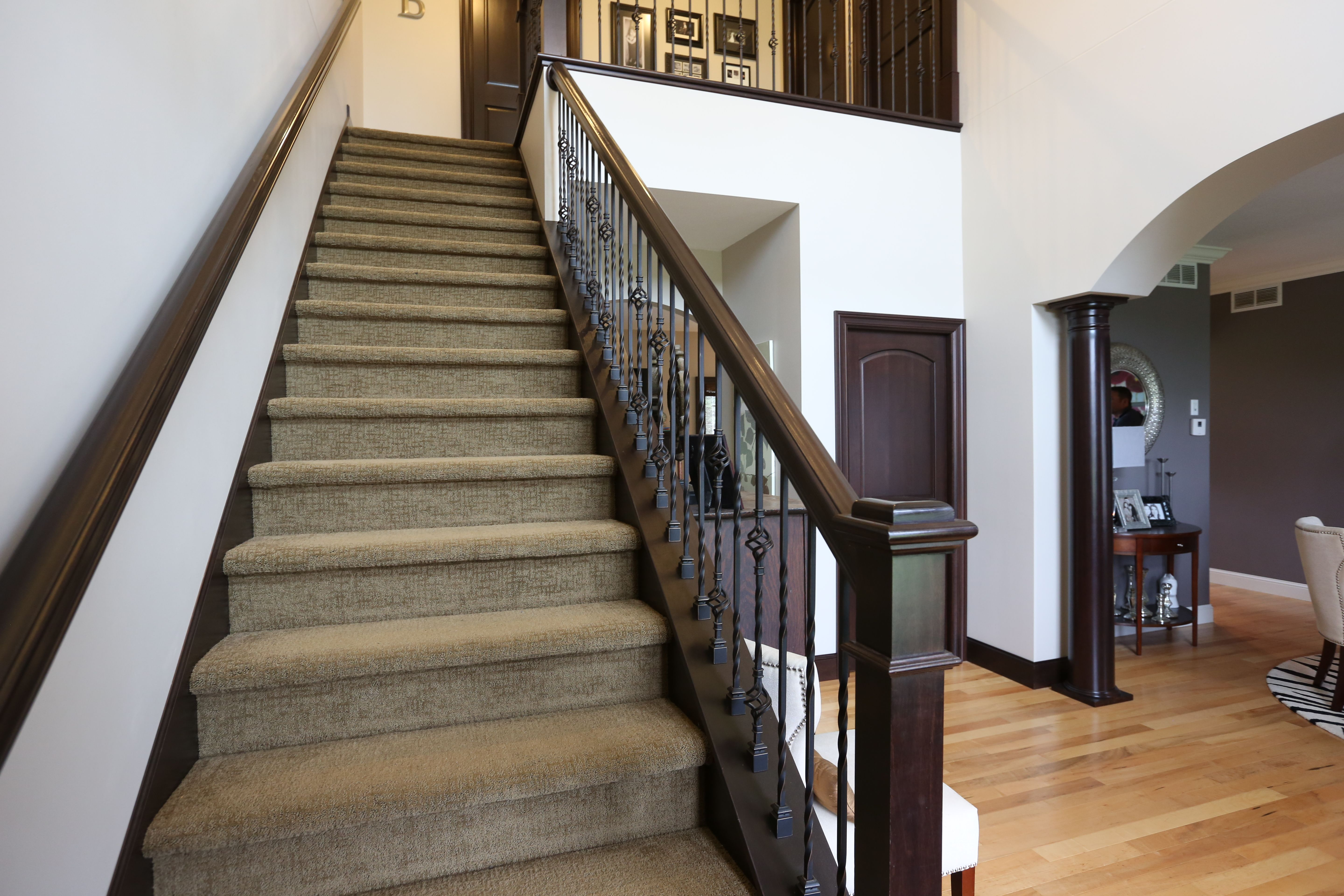 Best Stair Systems Wrought Iron Balusters With A Beautiful 400 x 300