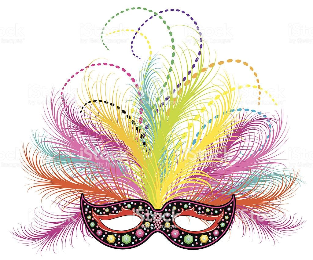 Purple Green And Gold Ornate Mardi Gras Feathered Mask And Beads In 2020 Karnawal Obrazy Maski
