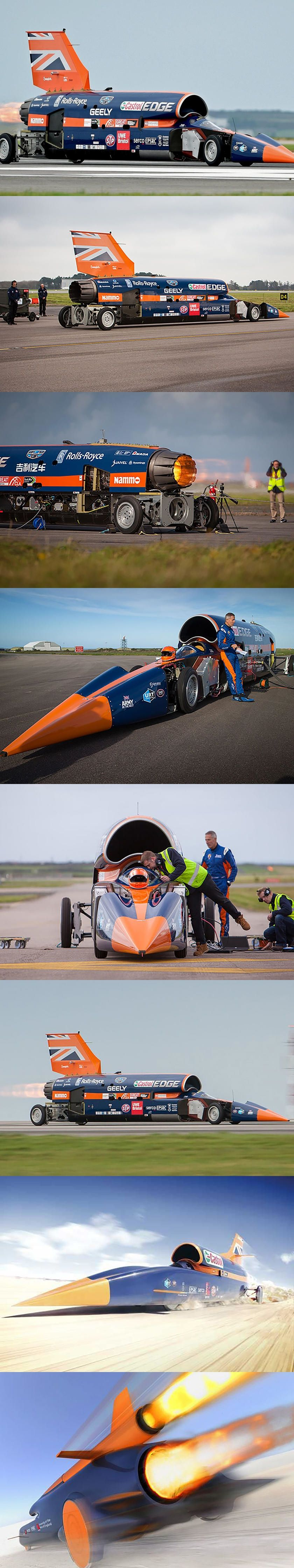 Bloodhound Supersonic Car Scrapped Before 1000 Mph Record Attempt After 11 Years The Dream To Set A New Land Speed Record Is Over Bloodhound Car Records