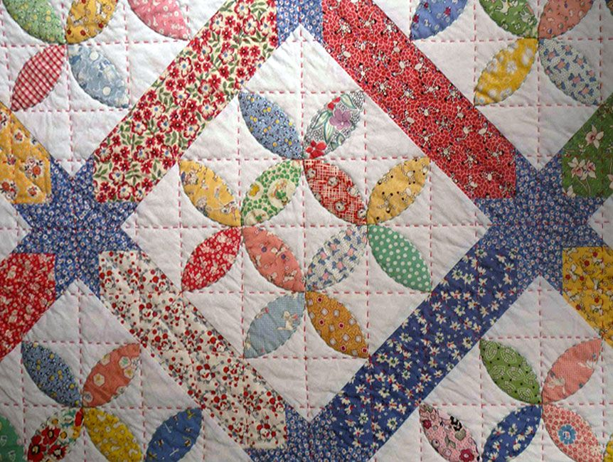 p>The Bay Leaf quilt pattern uses an easy applique technique. The ... : easy applique quilts - Adamdwight.com