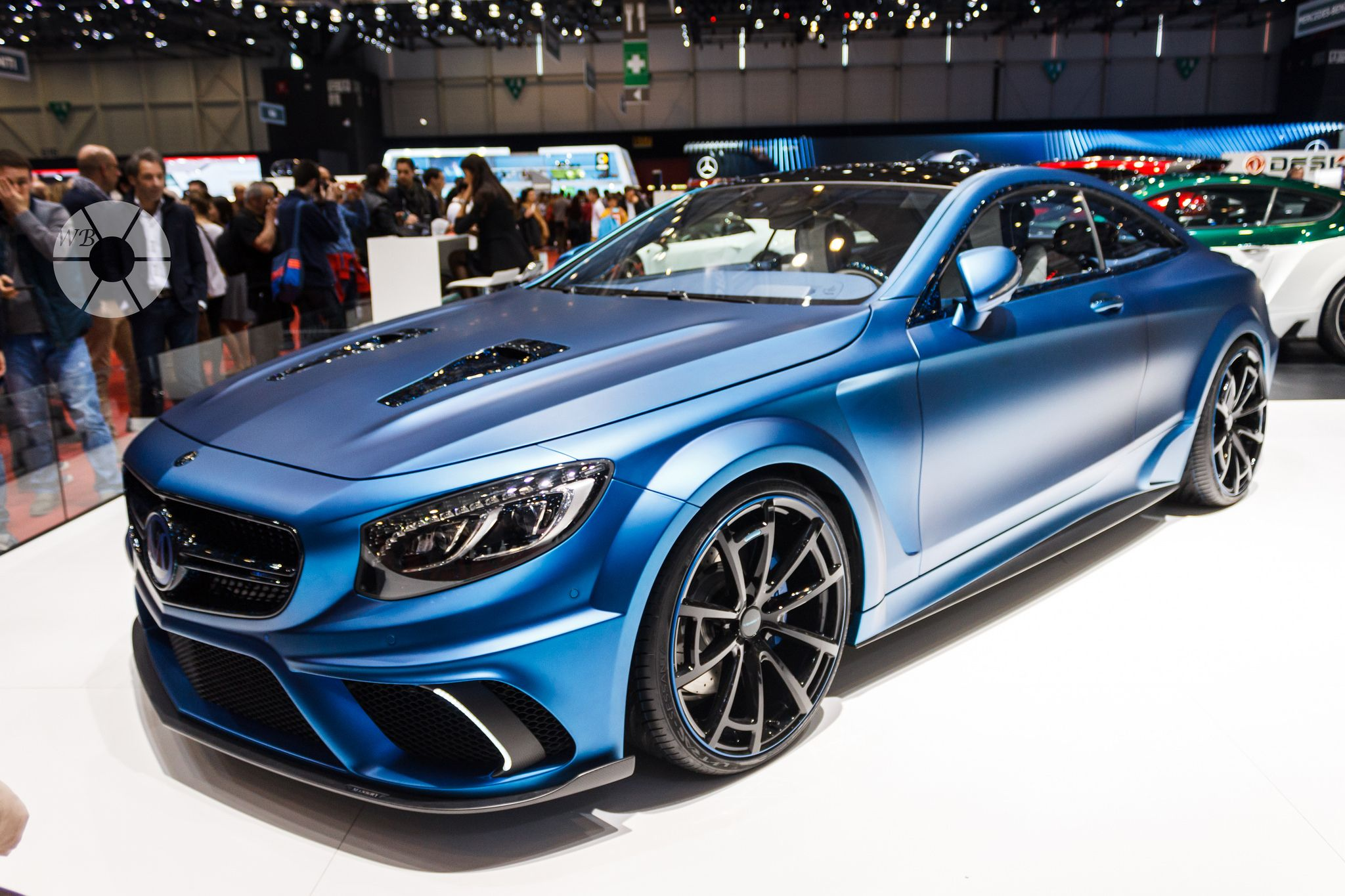 Mercedes Benz S63 AMG Coupe Diamond Edition Mansory 2015 G…