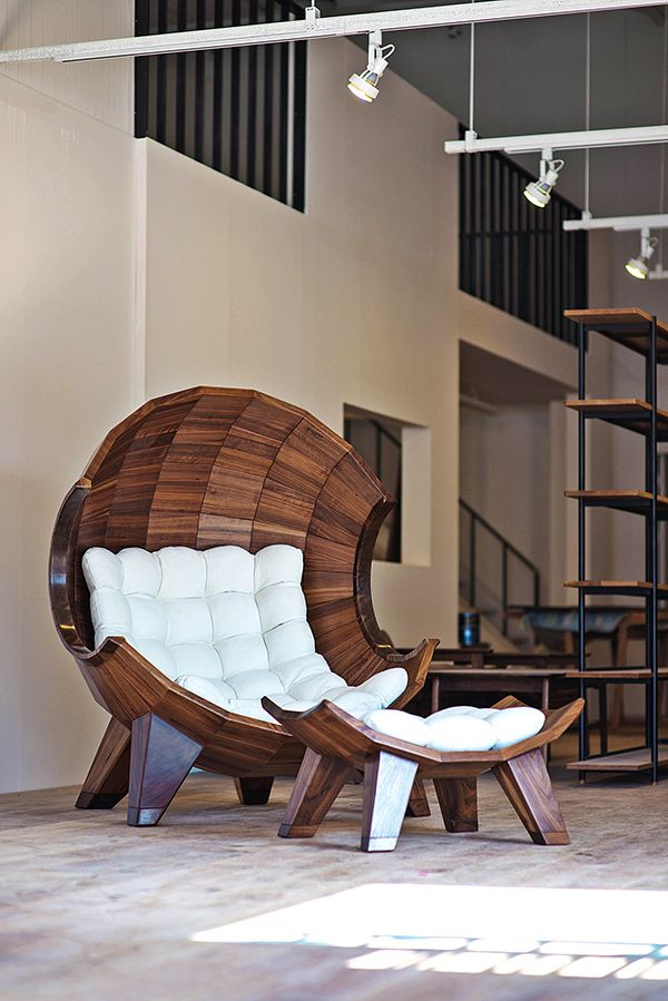 Best Segmented Ball Chair On Legs With Matching Ottoman Nice 640 x 480