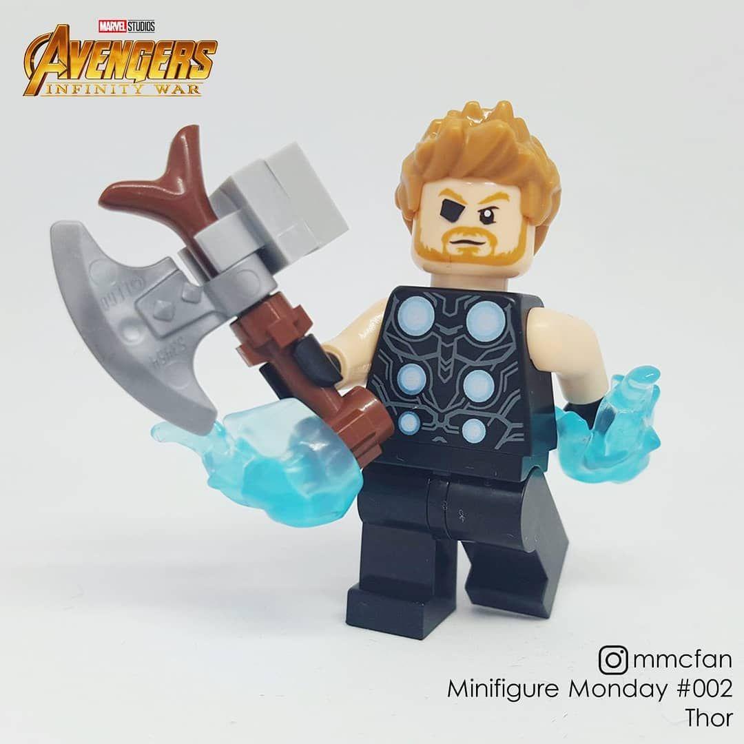 LEGO 76102 Marvel Supereroi Avengers Infinity GUERRE THOR minifigura