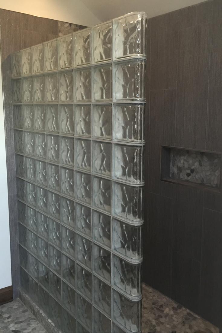 Glass block walls in bathrooms - A Zen Minimalist Bathroom Is Worth The Wait