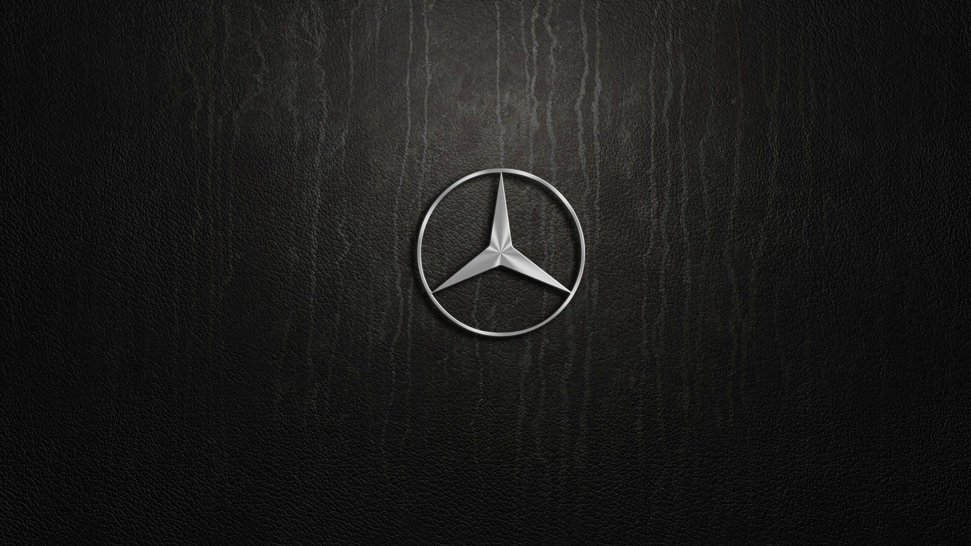 Mercedes Benz Pylon Logo Silver 1080p Wallpaper Hdwallpaper Desktop Mercedes Wallpaper Mercedes Benz Logo Mercedes Benz Wallpaper