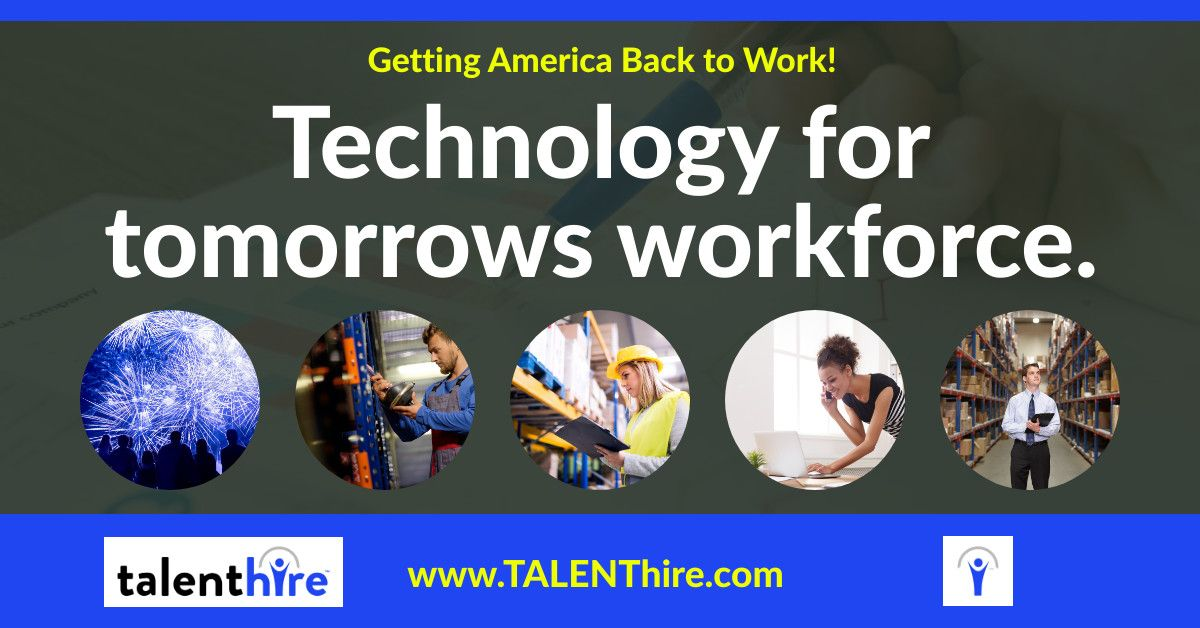 Technology For Tomorrow S Workforce Apply For Jobs At Www Talenthire Com Talenthire It Medical Temp Staffing Labo Work From Home Jobs Back To Work Job S