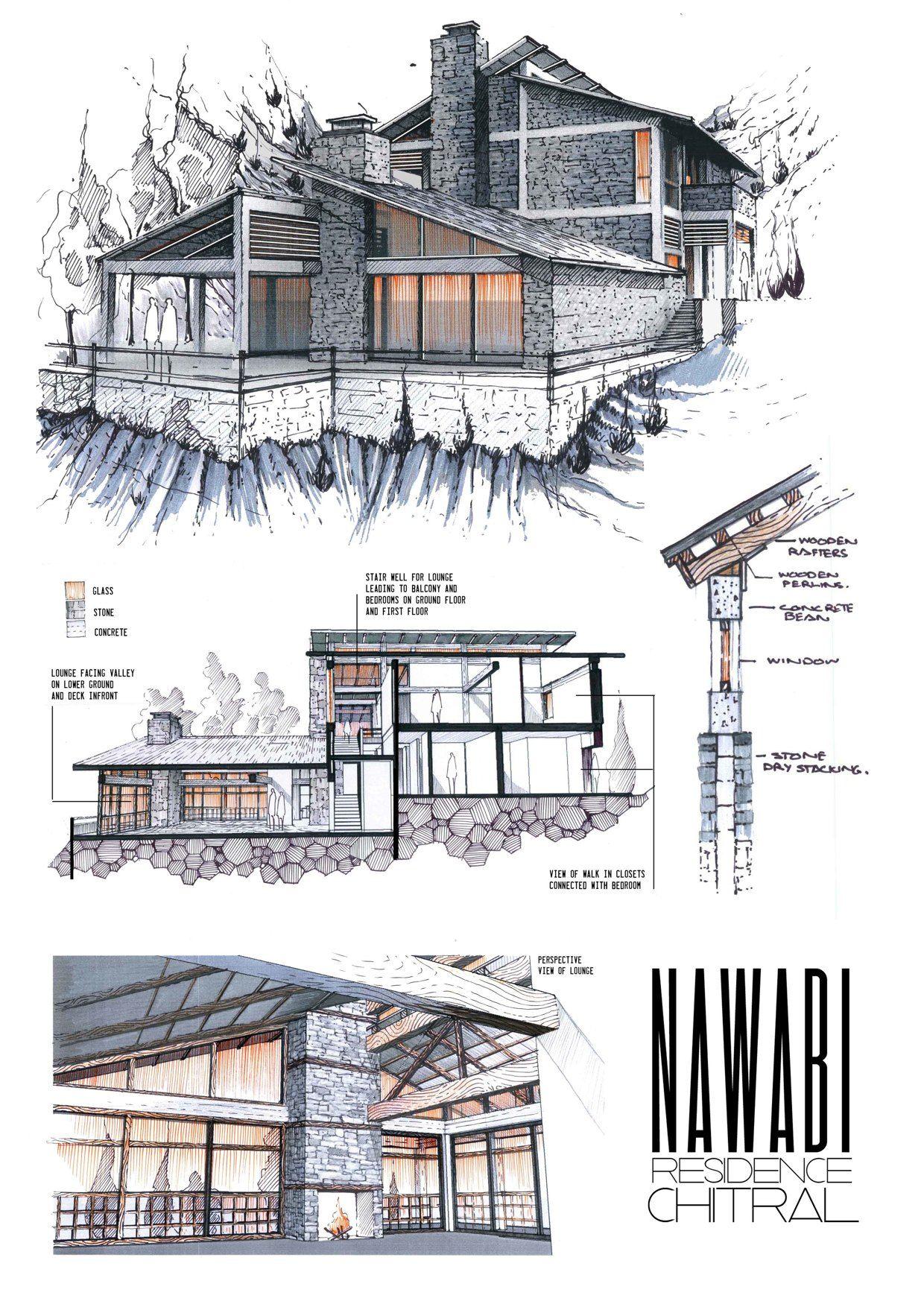 Professional architecture portfolio archi pinte for Ponteggio ceta dwg