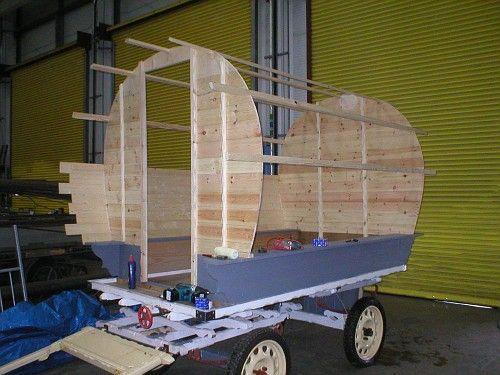 modern gypsy wagon | gypsy waggon caravan vardo | homemade gypsy