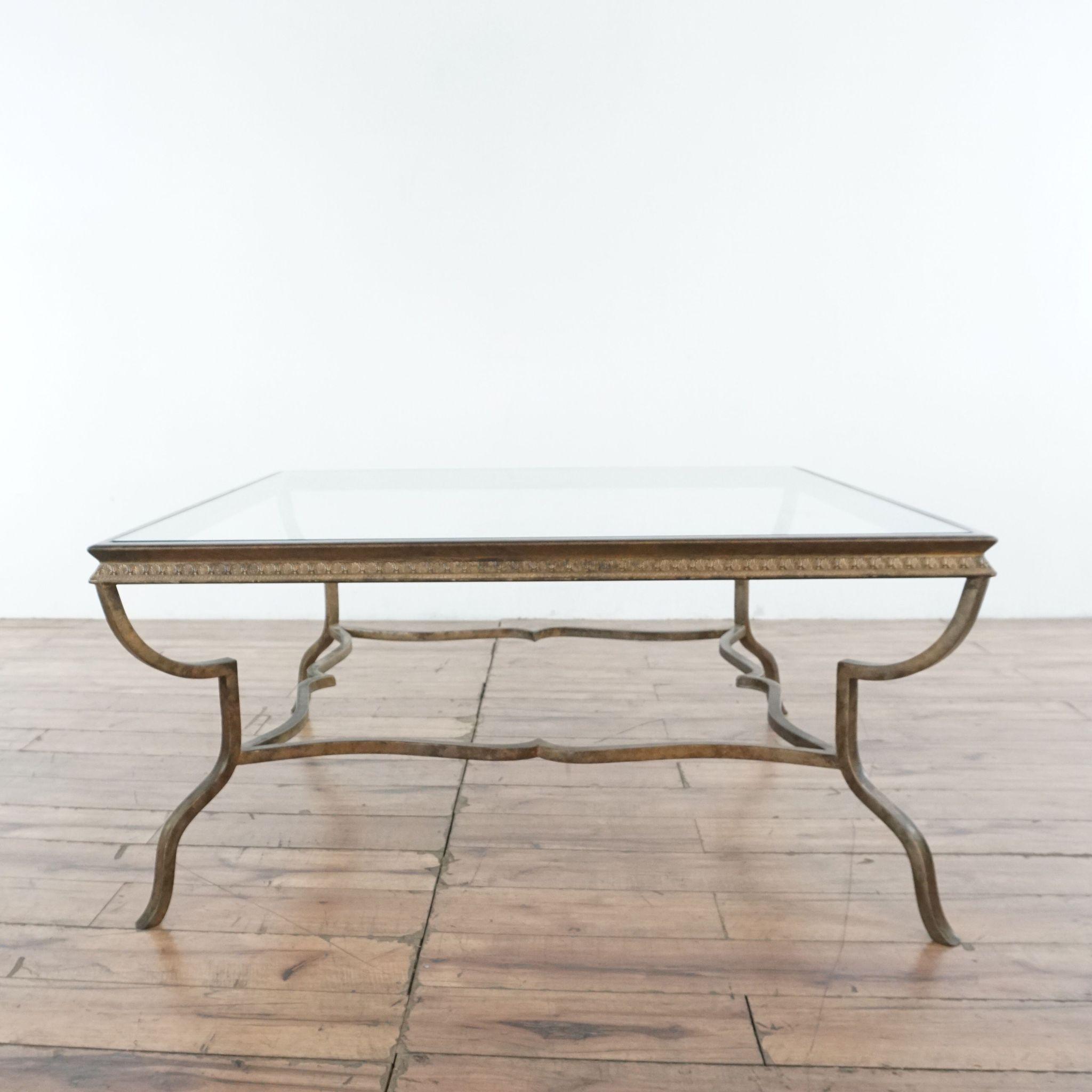 Glass Top Coffee Table Coffee Table Glass Top Coffee Table Metal Decor [ 2048 x 2048 Pixel ]