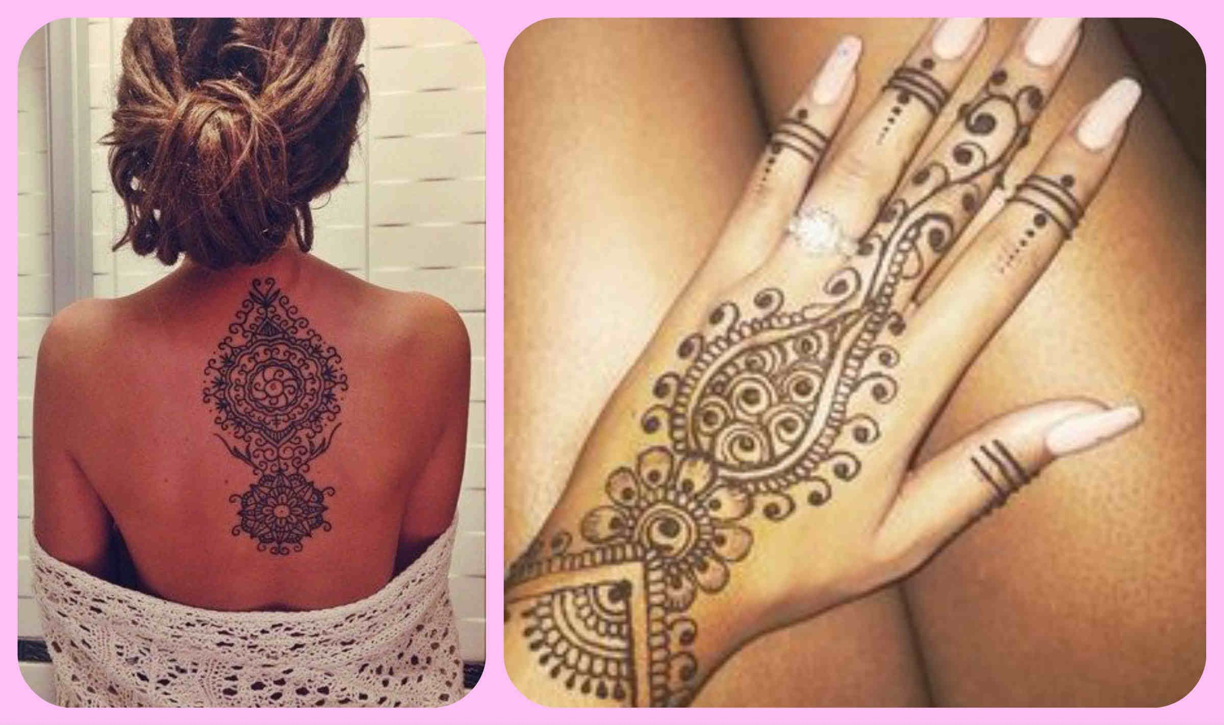 Como Hacer Tatuajes Temporales Caseros Sin Henna Hoy Os Traigo Un