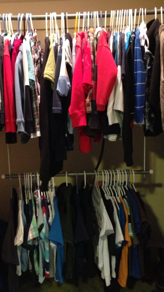 Lower Rod/closet Doubler In Toddlers Closet To Encourage Independent  Dressing. Montessori At Home.